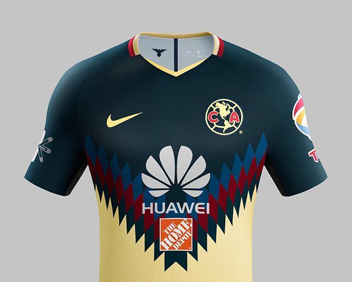 La camiseta del América fue elegida como una de las más bonitas del mundo.