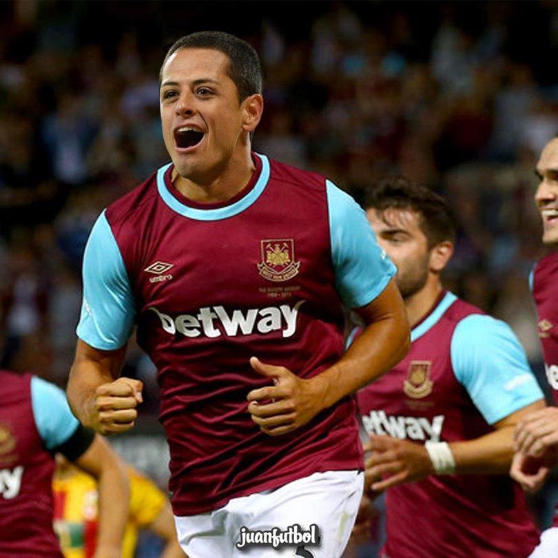Chicharito llega al West Ham