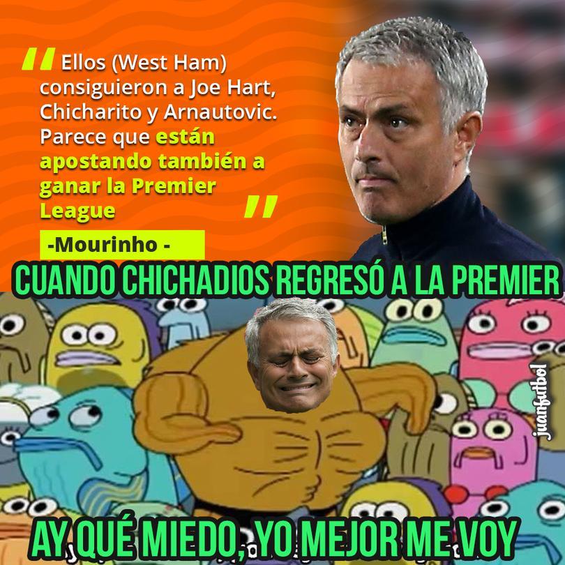 Mourinho cree que el West Ham peleará con Chicharito