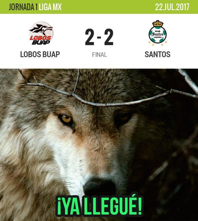 Lobos empata su primer juego en la Liga MX
