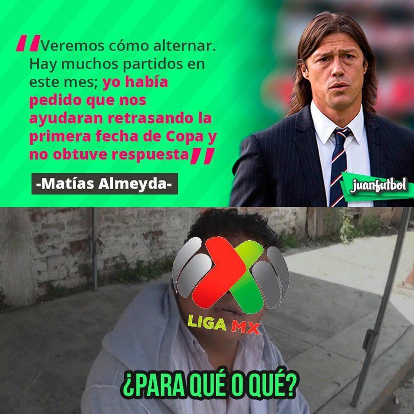 Almeyda dijo que pidió a la Liga atrasar la fecha 1 de la Copa MX pero no lo escucharon