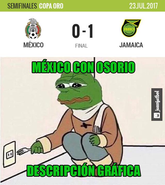 Jamaica venció 1-0 a México y lo echó de Copa Oro