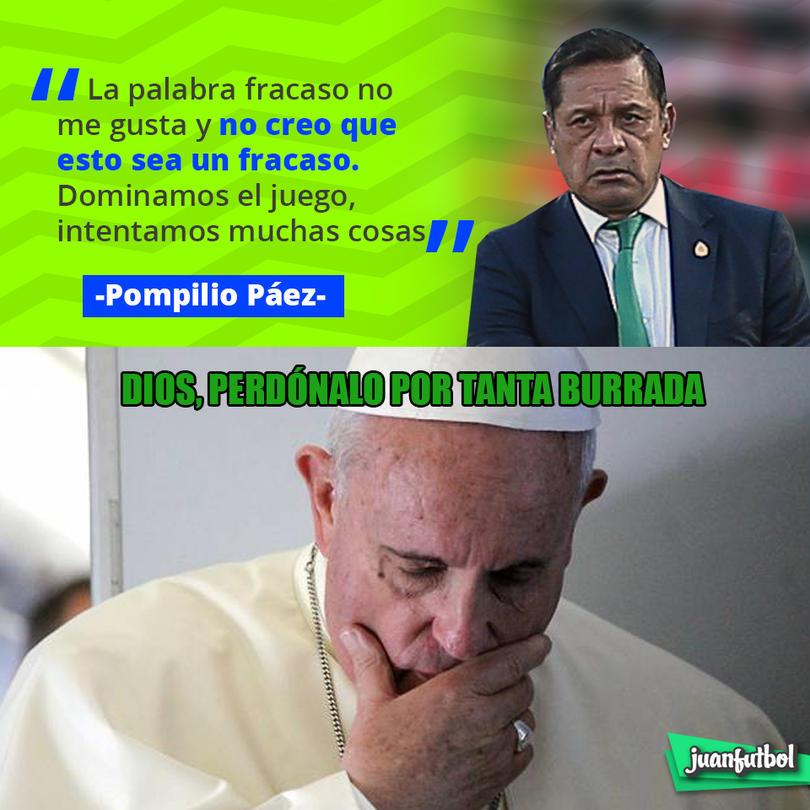 Luis Pompilio Páez rechazó que la eliminación de México de Copa Oro sea un fracaso