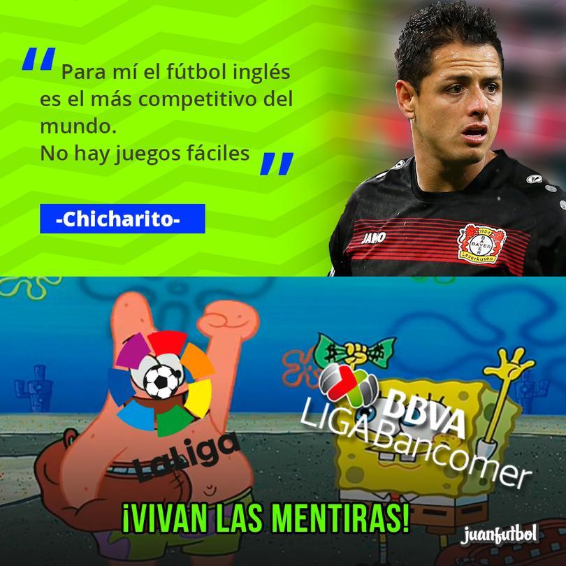 Chicharito habla sobre la Premier League