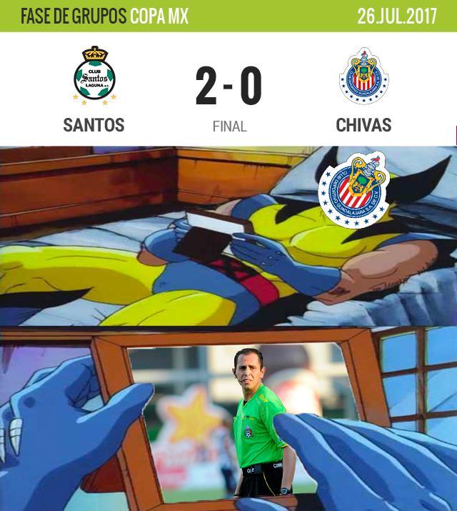 Chivas no pudo con Santos