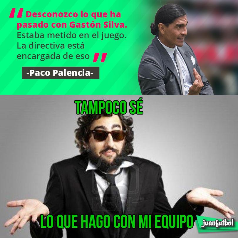 Paco Palencia no sabe qué pasó con el pase de Gastón Silva a Pumas
