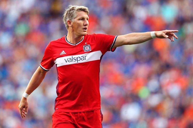 Bastian Schweinsteiger jugando para Chicago Fire