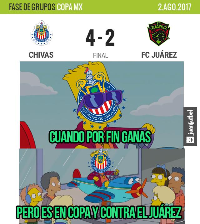 Chivas por fin ganó