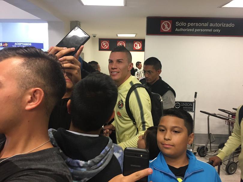 Uribe usará el número 8 con el Ame