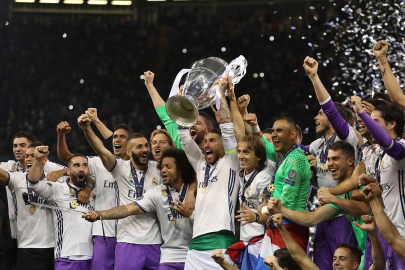 Real Madrid festeja título de la Champions League