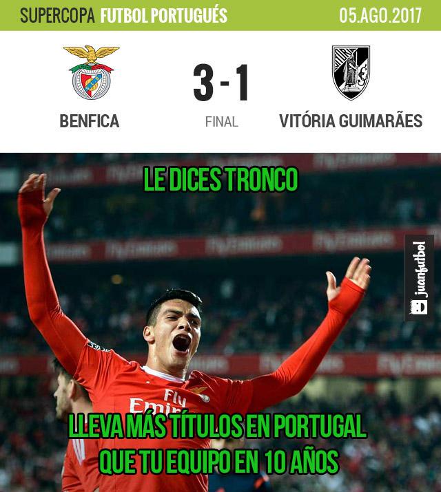Raúl Jiménez sumó otro título en Portugal