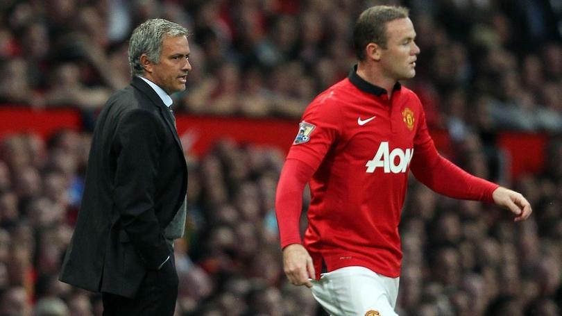 Rooney se tomó una foto con un exjugador.