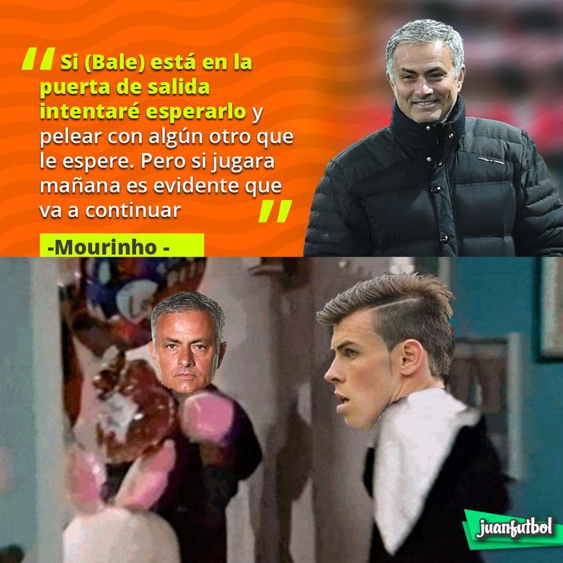 Mourinho dará todo por Bale