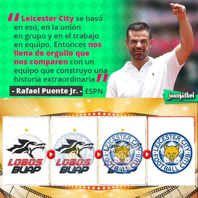 A Rafa Jr. le gusta que lo comparen con el Leicester