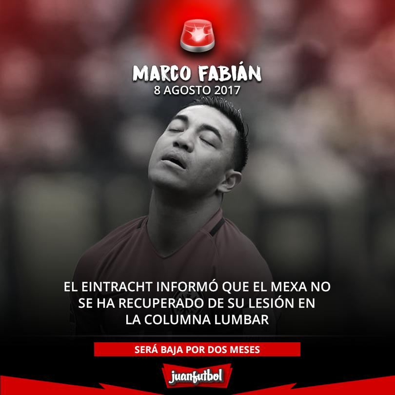 Marquito Fabián se lesionó