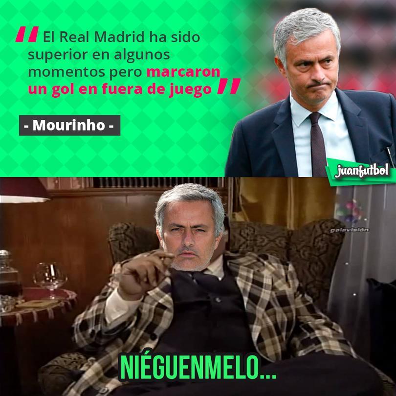 Mourinho cree que pudieron haber empatado