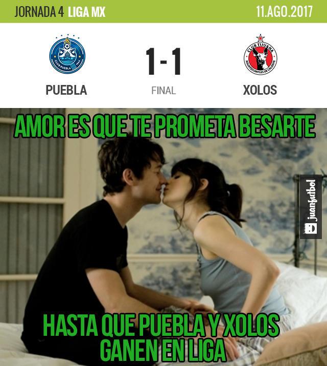 Puebla y Tijuana empataron en la Angelópolis