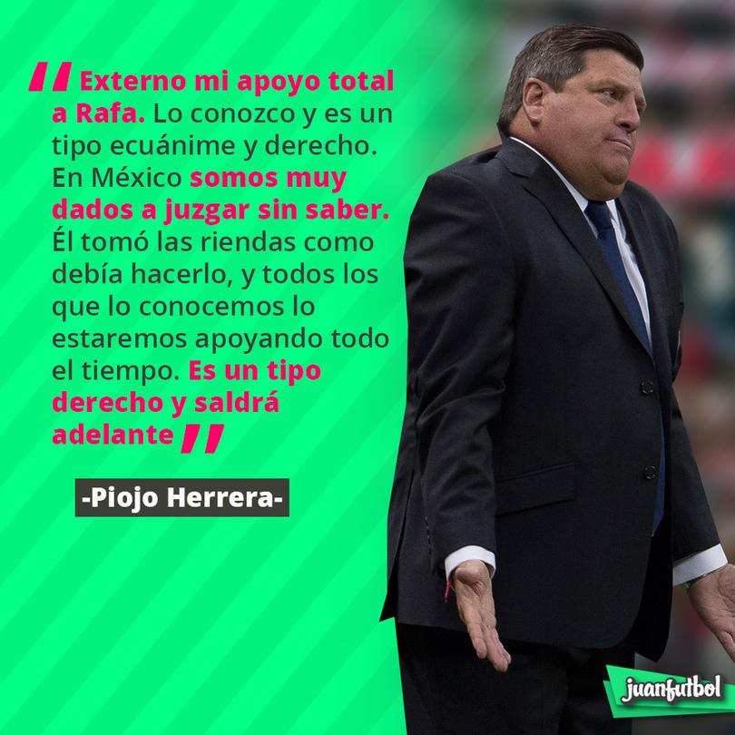 Miguel Herrera habó del caso Rafa Márquez