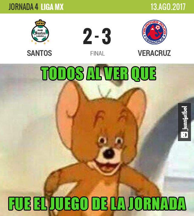 Veracruz se llevó los tres puntos de Torreón