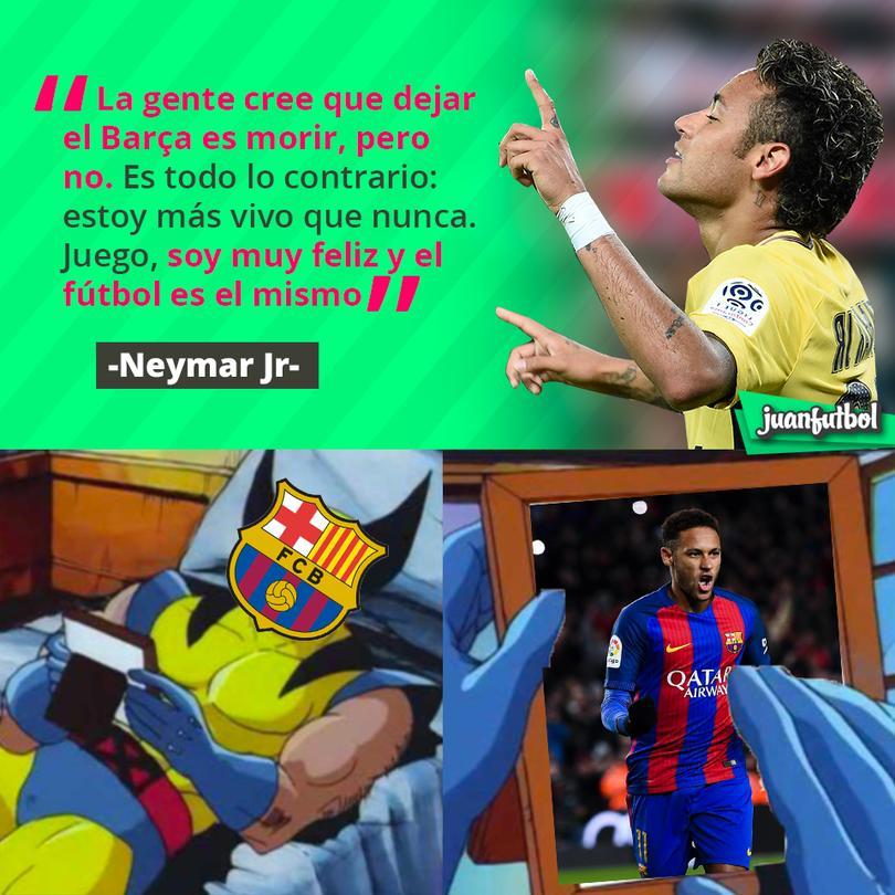 Neymar agradece estar en el PSG