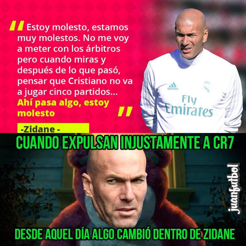 Zidane critica la sanción