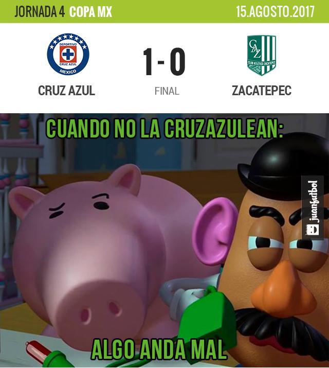 Cruz Azul logro ganar en copa mx