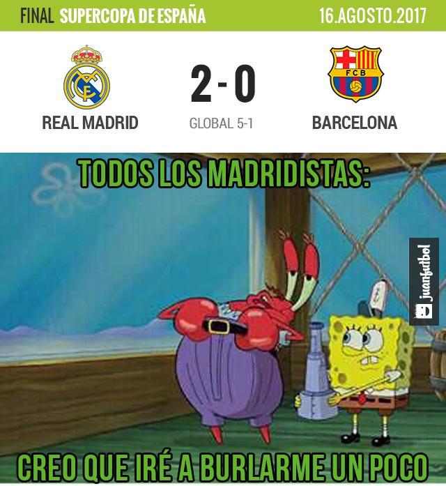 Real Madrid ganó la 10 Supercopa de España