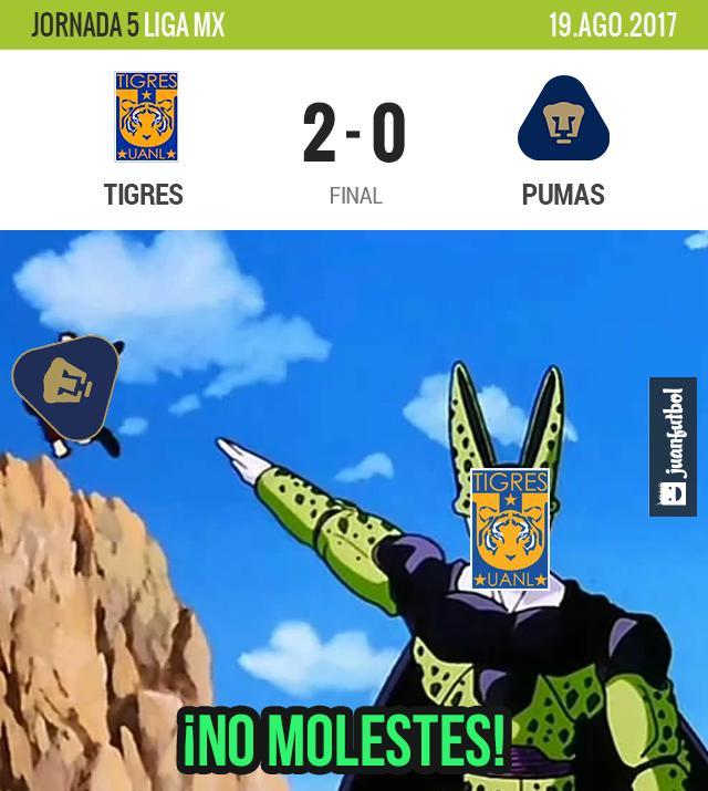 Típico: Tigres le ganó a Pumas