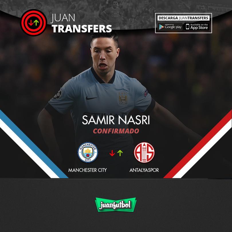 Samir Nasri se va del City