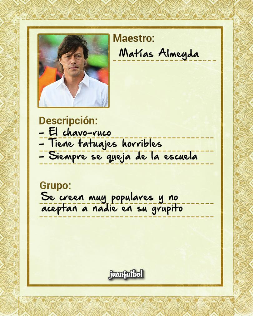 Ficha Maestro de Almeyda