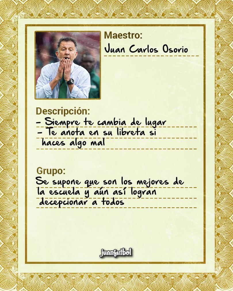 Ficha Maestro de Osorio