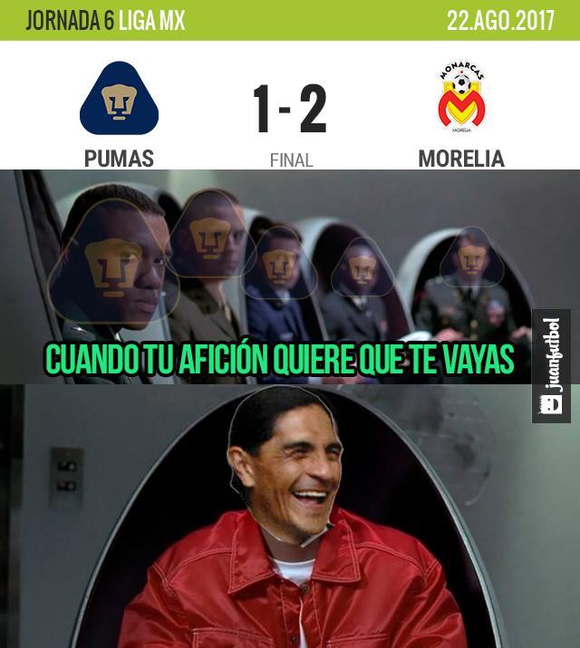 Palencia tiembla después de perder con Morelia