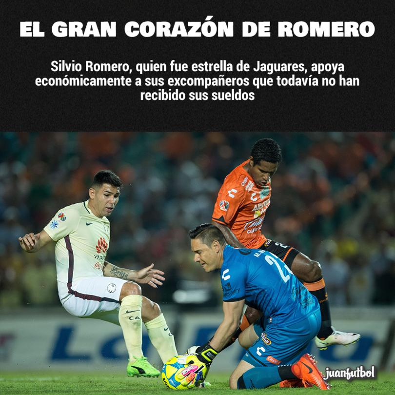 Chino Romero apoya a sus excompañeros