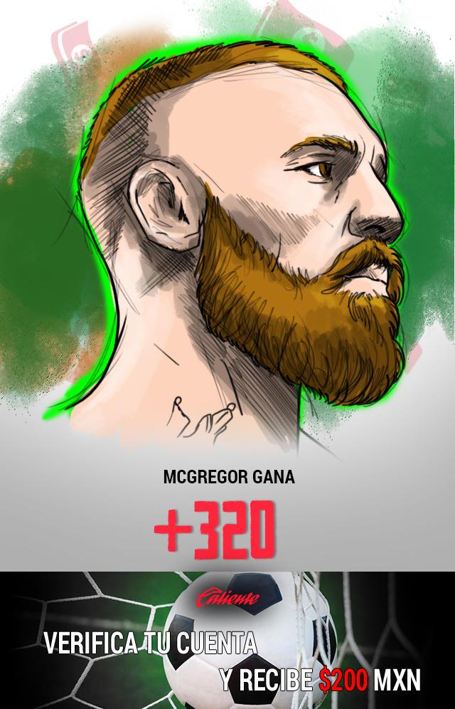 Si crees que Conor McGregor ganará la pelea contra Floyd Mayweather Jr, apuesta en Caliente y llévate mucho dinero.