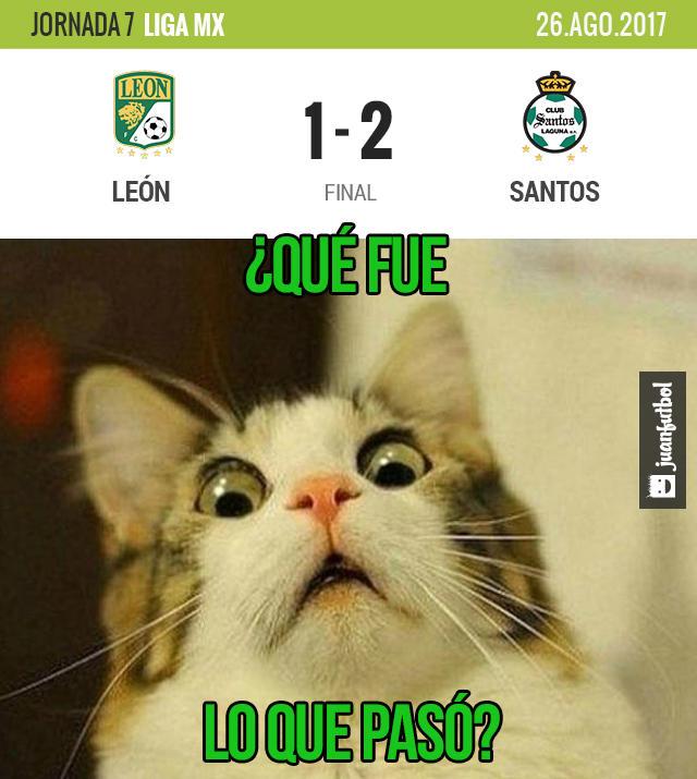 León fue sorprendido por Santos en el Nou Camp