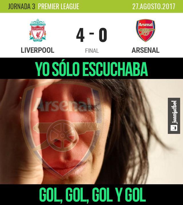 ¡El Arsenal ni las manos metió!