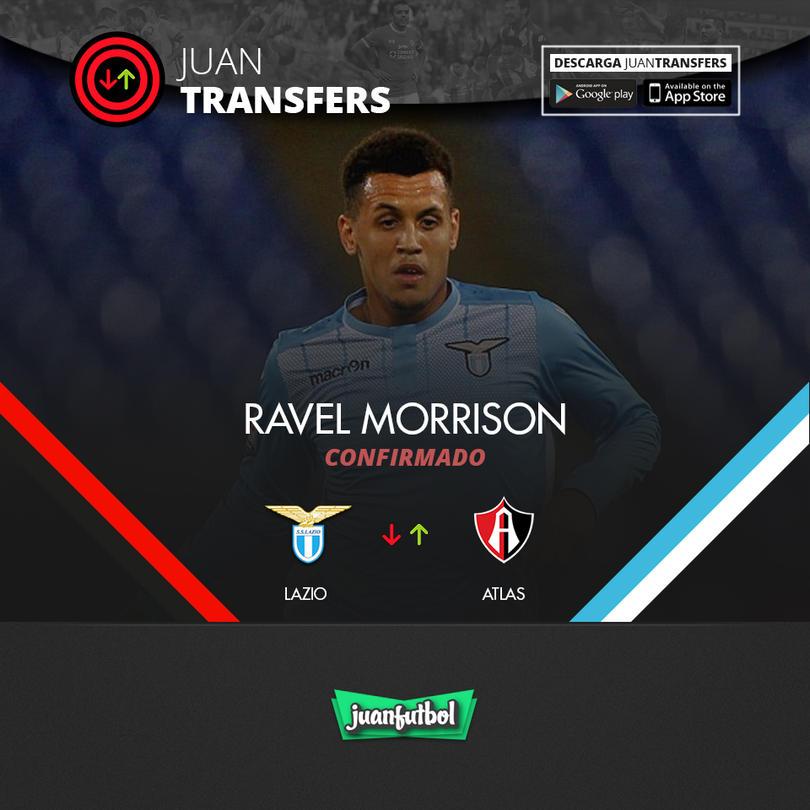 Ravel Morrison fue oficializado en el Atlas