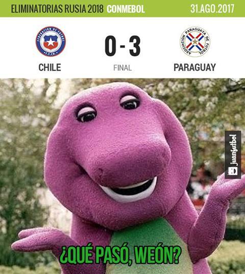 Chile fue goleado en casa por Paraguay