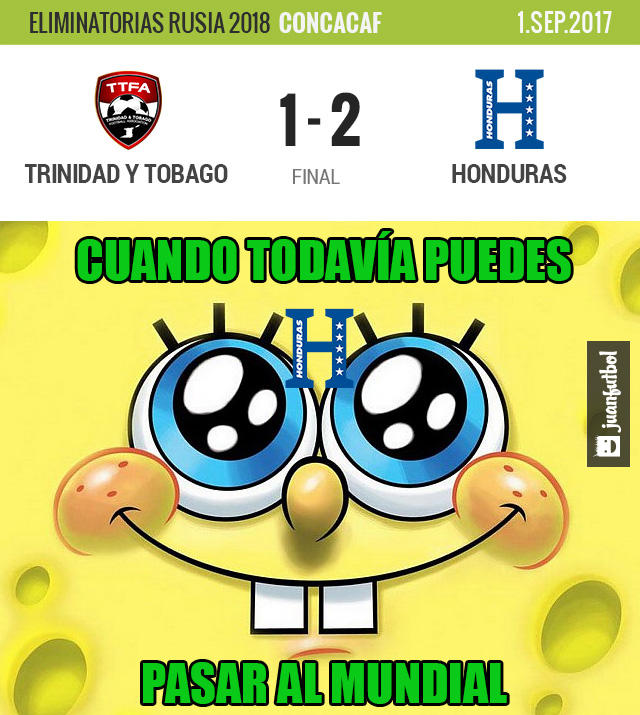 Honduras ganó en Trinidad y sigue soñando con Rusia 2018