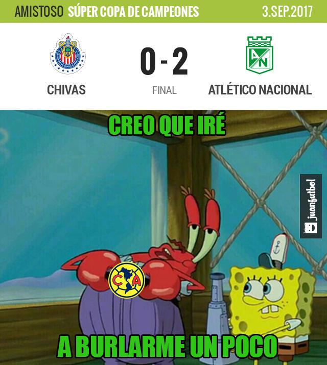 Chivas perdió 2-0 con Atlético Nacional en Estados Unidos