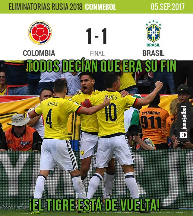 Empate en Colombia