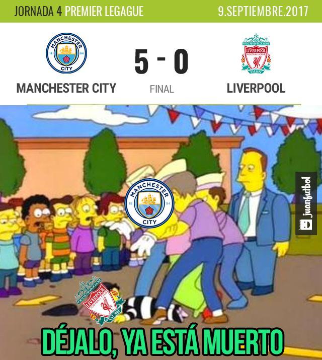 ¡Pobre Liverpool ni un gol pudo meter!