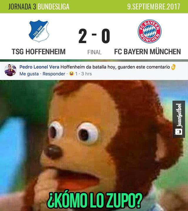 ¡When predices que al Bayern le va a ir mal! ??