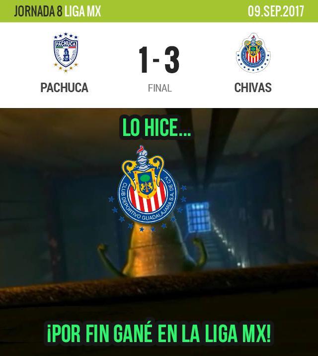 Chivas goleó a Pachuca