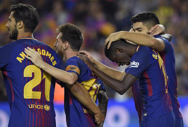 Barcelona celebra.