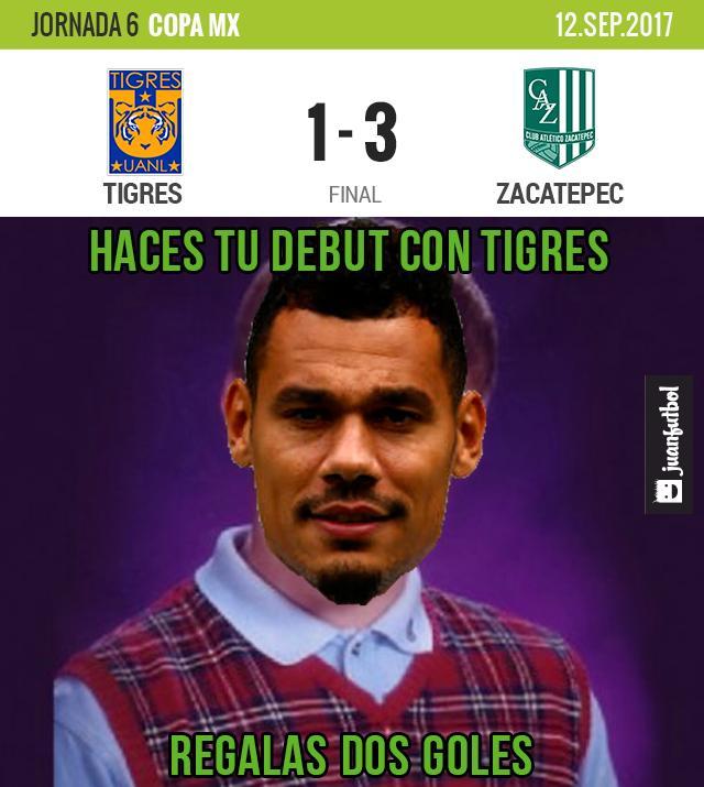 Tigres fuera de Copa MX