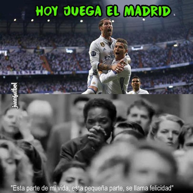 Hoy hay Champions y juega el Real Madrid.