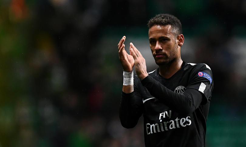 Neymar fue criticado en el Reino Unido