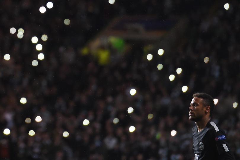 Neymar no quiso darle su playera a uno de los rivales