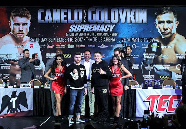 Canelo vs Golovkin